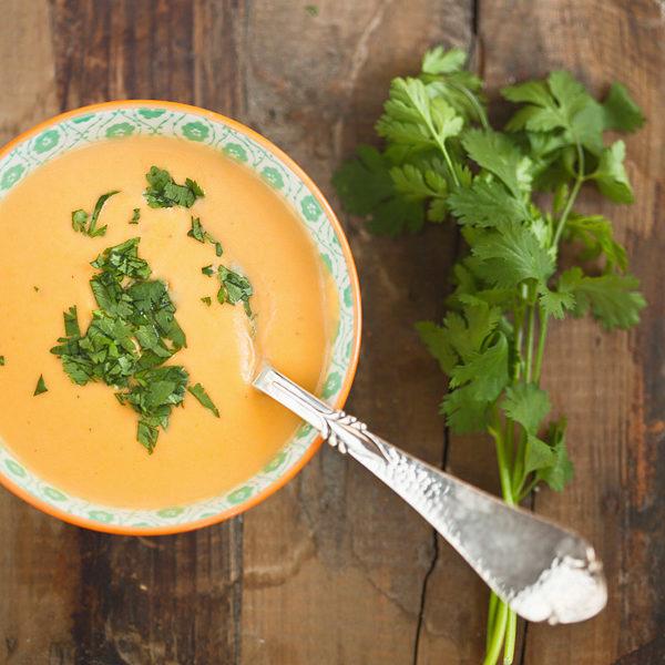 Süßkartoffelsuppe Rezept herbstlich Suppe