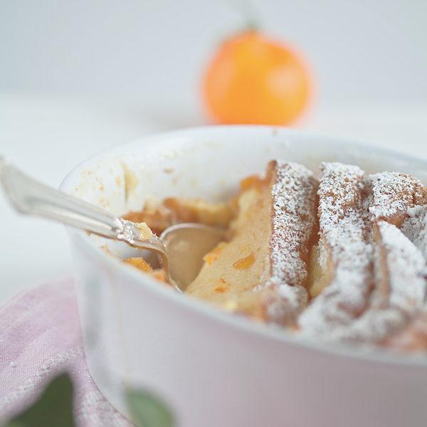 Brioche Auflauf mit Orangenmarmelade, ein einfaches und köstliches Rezept für etwas Süßes