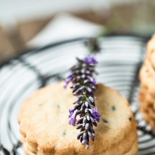 Kekse mit Lavendel, so schmeckt der Sommer als Plätzchen!
