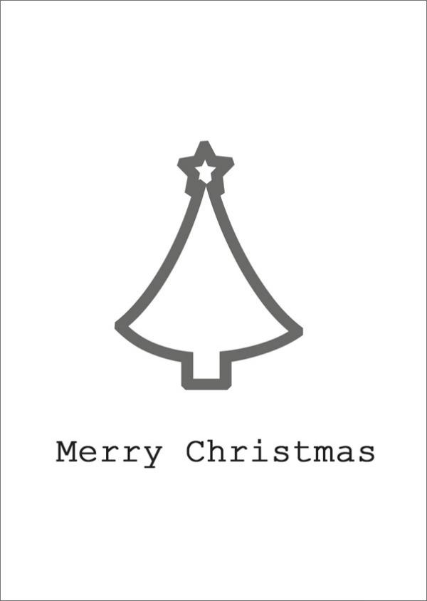 Merry Christmas Karte