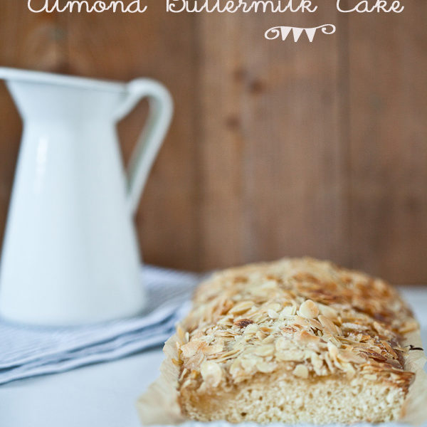 Mandel Buttermilch Kuchen