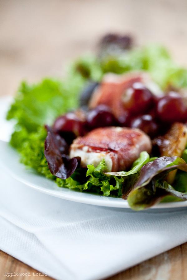 Salat Bacon Ziegenkäse
