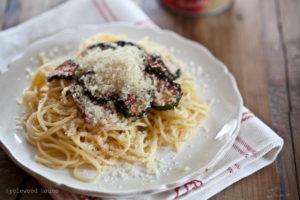 Spaghetti Grillgemüse Rezept einfach lecker gesund