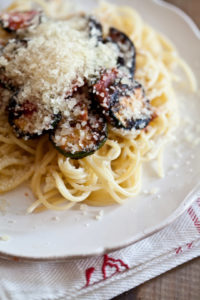 Spaghetti mit Grillgemüse Rezept