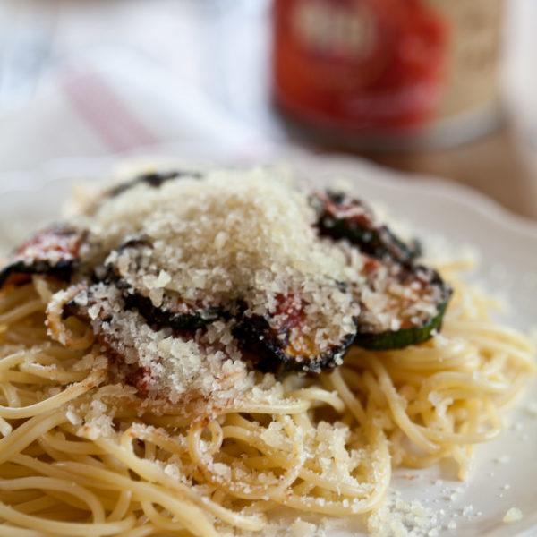 Schnelle Spaghetti Gemüse Rezept