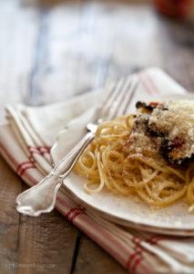 Rezept für leckere Spaghetti mit Gemüse